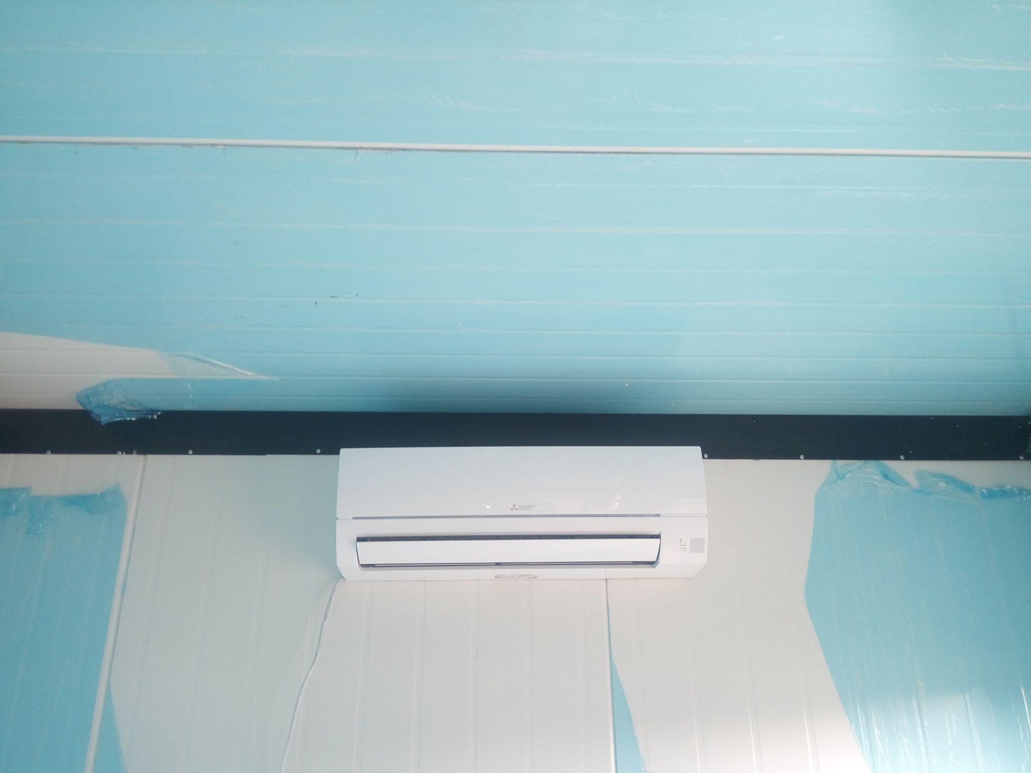 Klimatyzacja w domku holenderskim Starachowice
