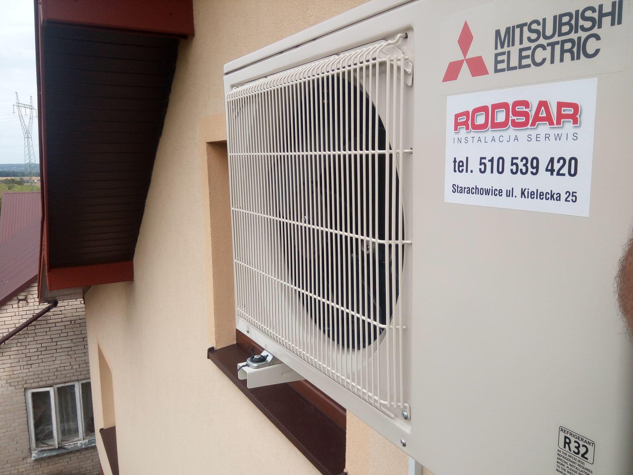 Klimatyzacja Mitsubishi Multi Split 2szt Pawłów
