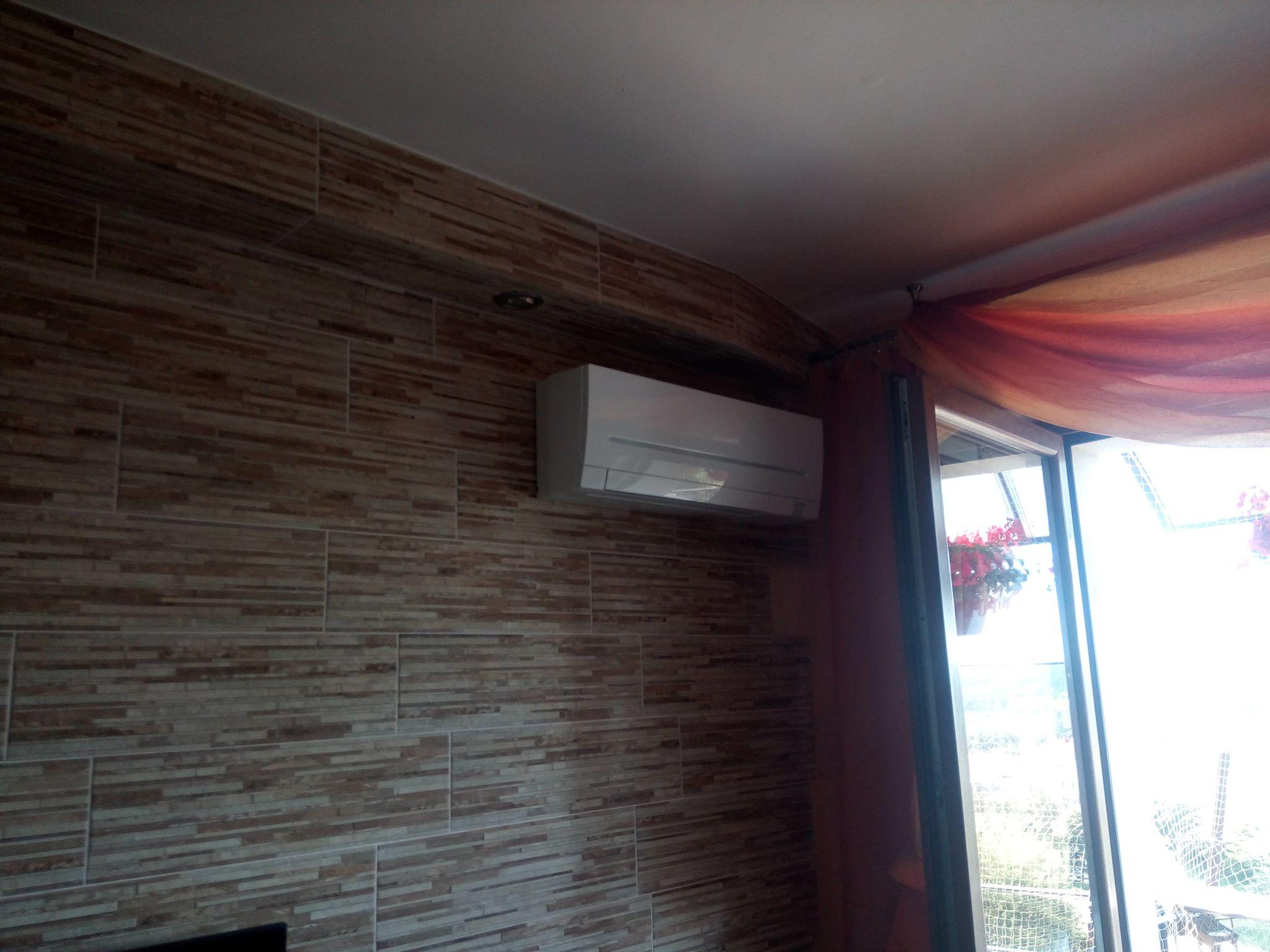Klimatyzacja Mitsubishi Multi Split w bloku w Starachowicach