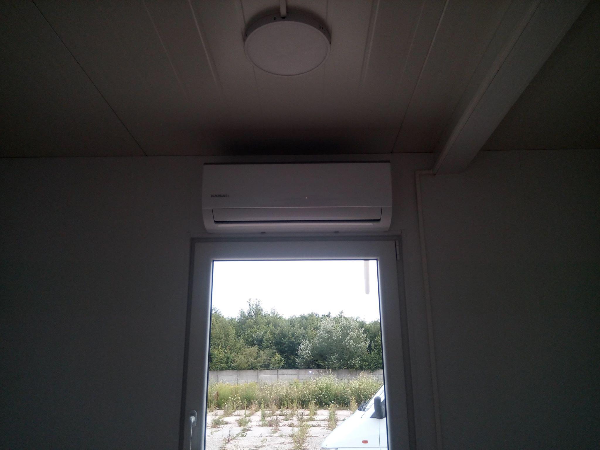 Klimatyzacja w domku holenderskim Multi Split Kaisai