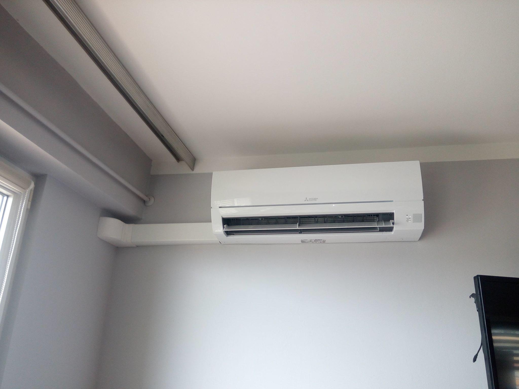 Klimatyzacja Mitsubishi w bloku Skarżysko Kamienna