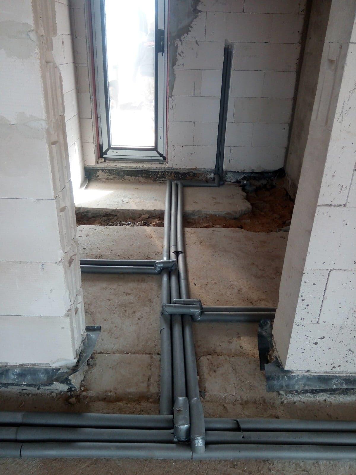 instalacja wodna w Wąchocku