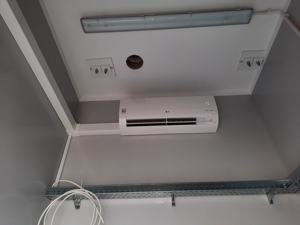 Klimatyzacja LG z funkcją ogrzewania zamontowana w Bodzentynie