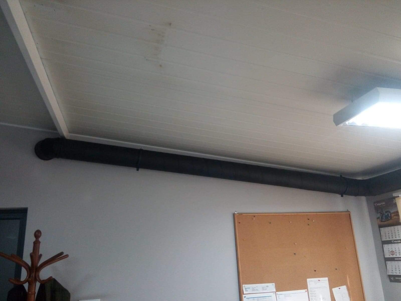 Rekuperacja w pomieszczeniach biurowych ul. Składowa. Rekuperator MITSUBISHI