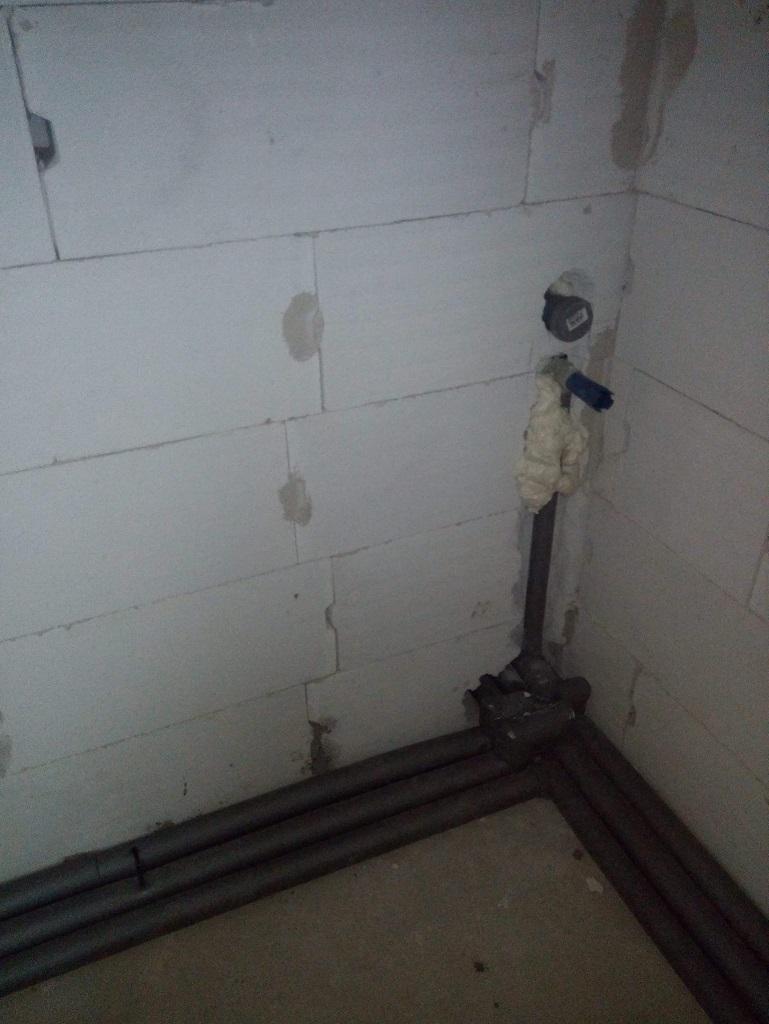 Woda i kanalizacja w nowym domu w Wielkiej Wsi