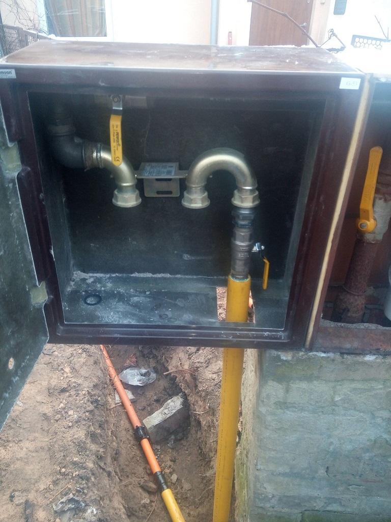 Instalacja gazowa zewnętrzna do domu w Starachowicach.