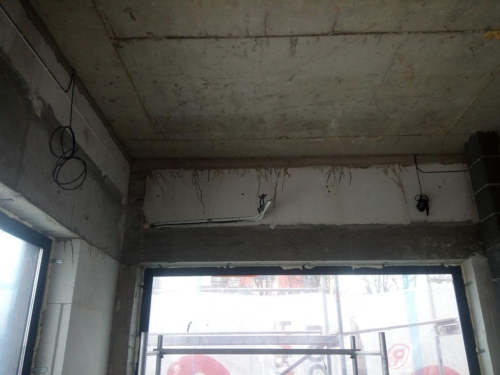Rozłożenie orurowania i kondensatu pod 4 klimatyzatory w Starachowicach.
