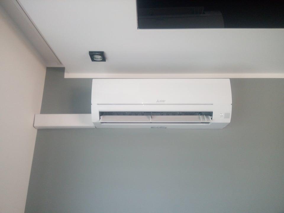 Klimatyzator Mitsubishi 5kw zamontowany w Dąbrowie