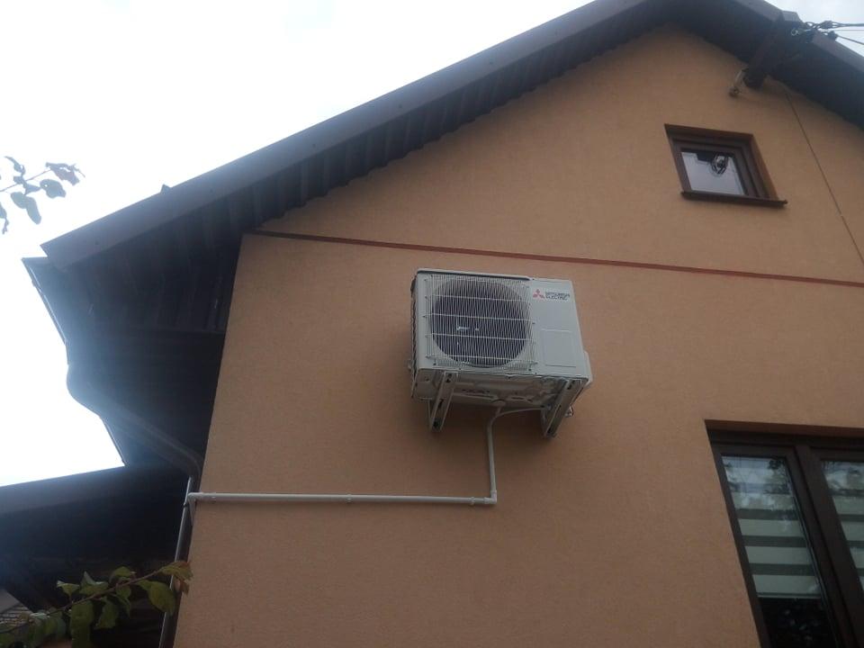 Klimatyzator Mitsubishi 3, 5 kw zamontowany w Rudkach