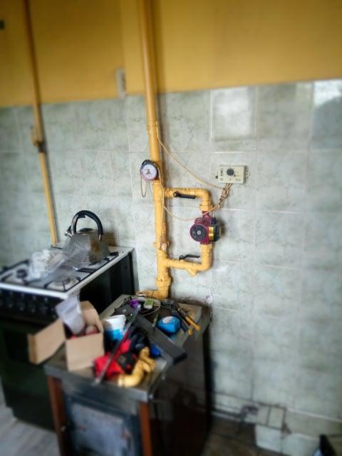Montaż kotła gazowego dwu-funkcyjnego EuroTerm