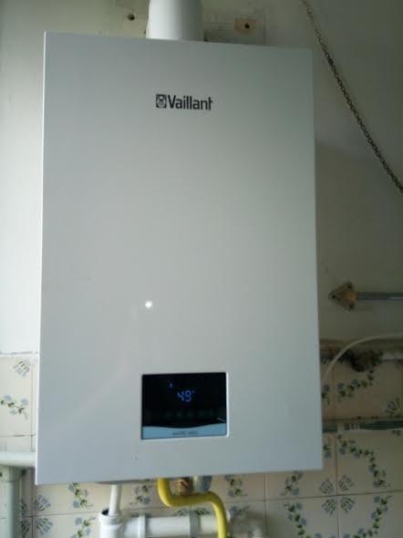 Kocioł gazowy Vaillant zamontowany w Wąchocku