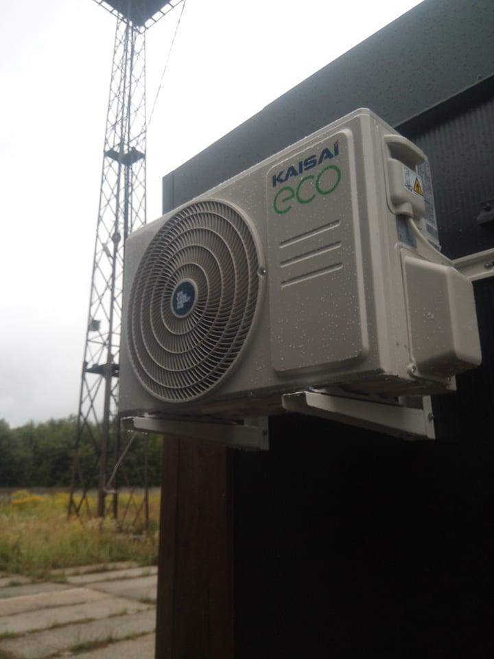 Klimatyzacja Kaisai zamontowana w domku Holenderskim.