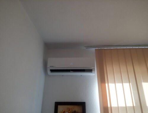 Klimatyzator KAISAI zamontowany w kancelarii adwokackiej w Starachowicach.